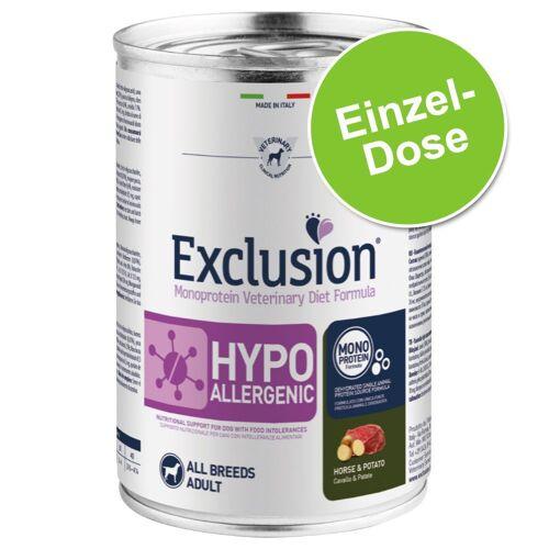 400g Hypoallergenic Ente & Kartoffel Exclusion Diet Hundefutter nass