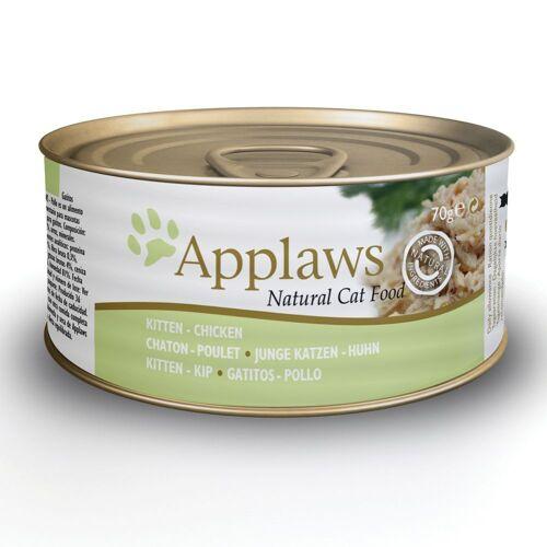 Applaws 24 x 70g Kitten Huhn Applaws Katzenfutter nass