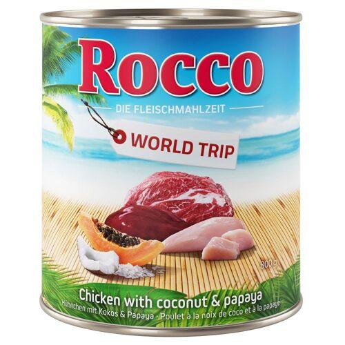 Rocco 6 x 800g oder 24 x 800g 24 x 800g World Trip Jamaika Rocco Hundefutter nass