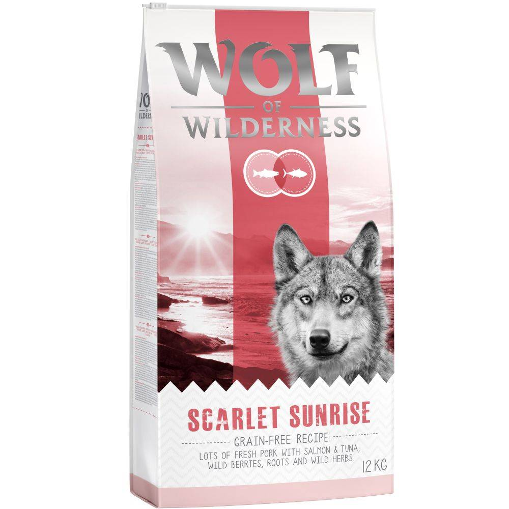 """Wolf of Wilderness """"Scarlet Sunrise"""" - Lachs & Thunfisch - 5 x 1 kg"""