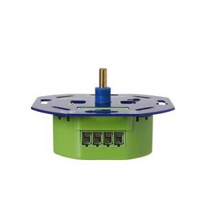 Ecodim LED Dimmer 0-300 Watt  Phasen an und abschnitt  Inkl. Blendrahmen und Knopf ECO-DIM.01