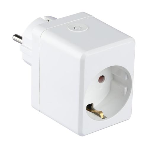 V-TAC Intelligenter Stecker mit USB-Anschluss Weiß
