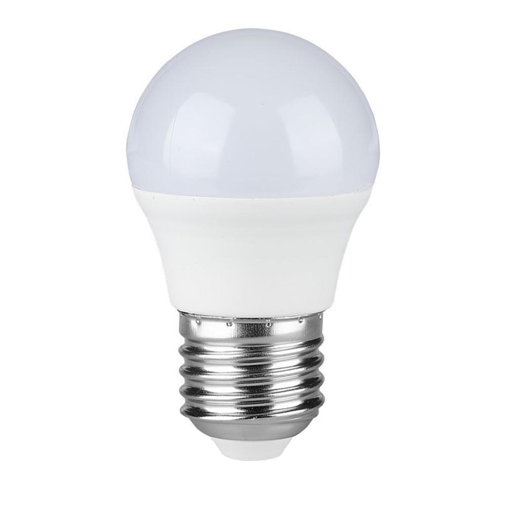 V-TAC E27 LED Lampe 4 Watt G45 4000K Ersetzt 30 Watt