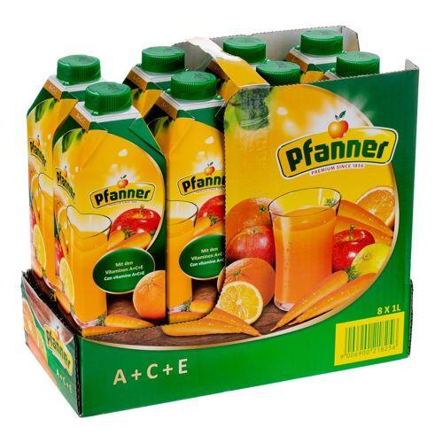 Pfanner 8x1l Pfanner A + C + E Saft