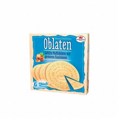 Dr. Quendt 5 x 150 g Dr. Quendt Oblaten Haselnuss