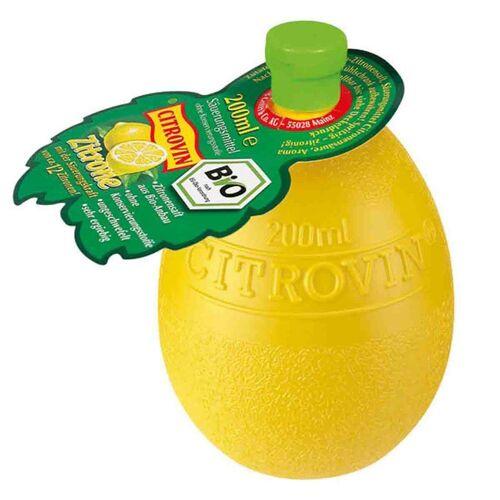 Bela 3 x 200 ml Citrovin Bio Zitronenkonzentrat