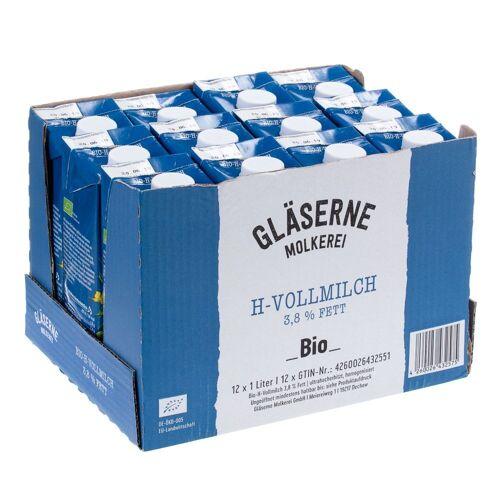 Glaeserne Molkerei 12 x 1 l Glaeserne Molkerei Bio H-Milch 3,8%