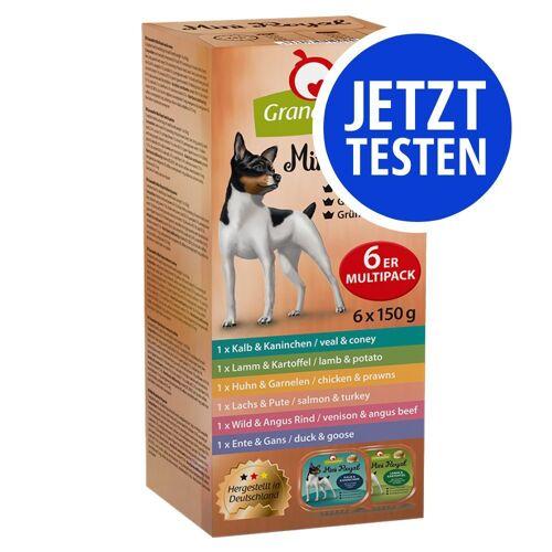 Granatapet 6 x 150 g Mini Royal Mix, 6 Sorten GranataPet Hundefutter nass