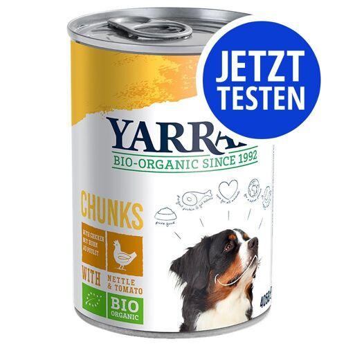 Yarrah 4 x 405g & 2 x 400g Mix, 3 Sorten Yarrah Hundefutter nass