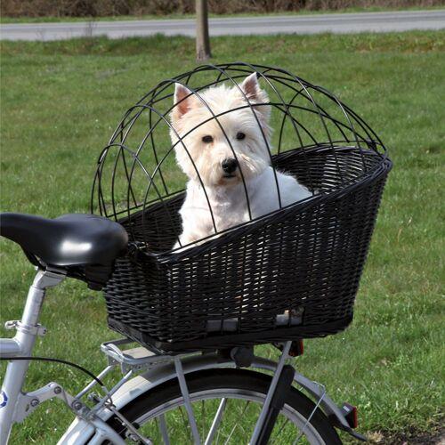 Trixie Fahrradkorb mit Gitter - L 49 x B 35 x H 55 cm