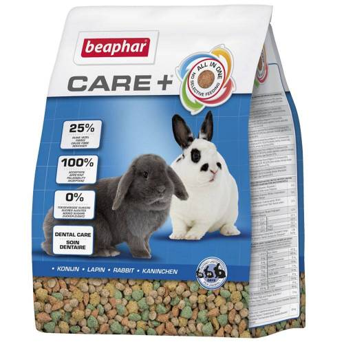 Beaphar 2 x 5kg Care+ Kaninchen Beaphar Kaninchenfutter