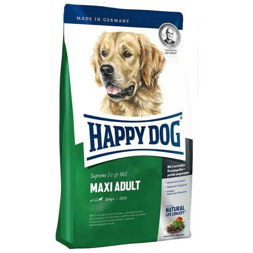 Happy Dog Supreme Fit & Well 15kg Fit & Well Maxi Adult Happy Dog Supreme Fit & Well