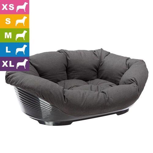 Ferplast Hundekorb Sofà mit Bezug - L 70,5 x B 52 x H 23,5 cm