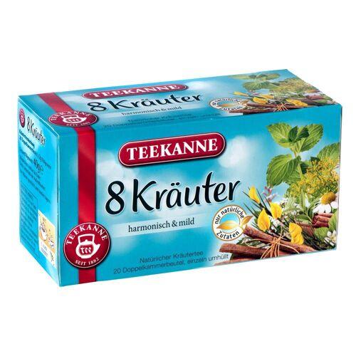 Teekanne 12 x 20 Beutel - Teekanne 8-Kräuter