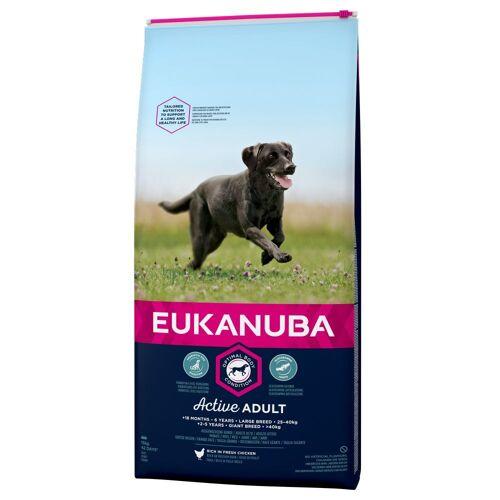 Eukanuba 15kg Adult Large Breed Huhn Eukanuba Active Hundefutter trocken
