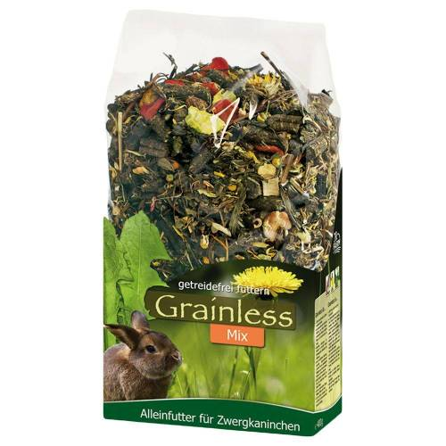 JR Farm 1,7 kg JR Grainless Mix Zwergkaninchen