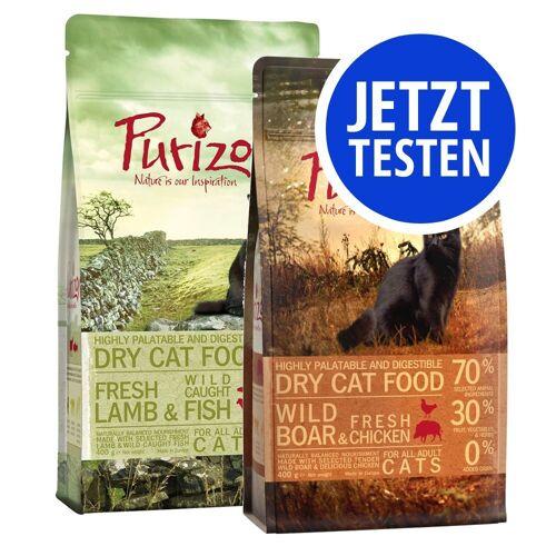 Purizon Cat 2 x 400g Adult Huhn & Fisch / Wildfleisch & Huhn Purizon Cat