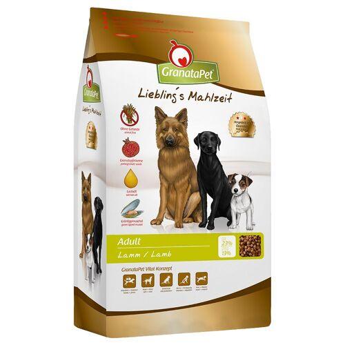 Granatapet 10kg Liebling's Mahlzeit Adult Lamm Granatapet Hundefutter trocken