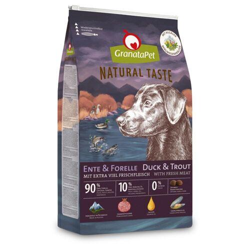 Granatapet 12kg Ente & Forelle GranataPet Natural Taste Hundefutter trocken