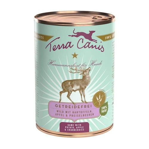 Terra Canis 6 x 400g Pute & Sellerie, Kürbis und Brunnenkresse Terra Canis