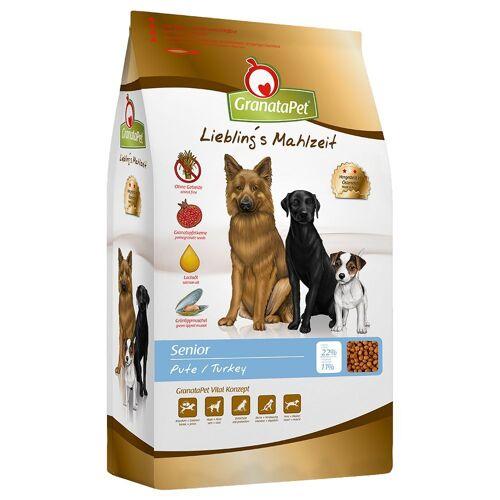 Granatapet 10kg Liebling's Mahlzeit Senior Pute Granatapet Hundefutter trocken