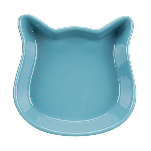 Trixie Keramiknapf Katzenkopf - 2 x 250 ml, Ø 12 cm