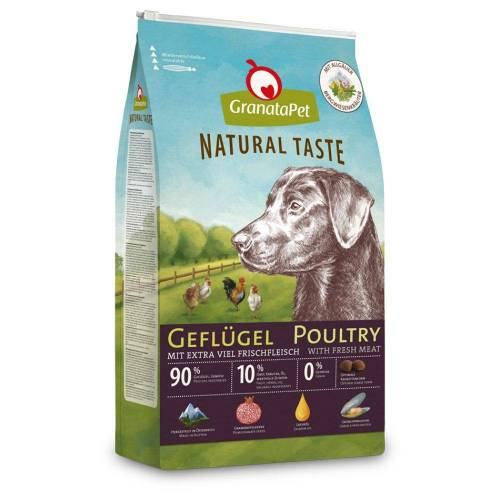 Granatapet 12kg Geflügel GranataPet Natural Taste Hundefutter trocken