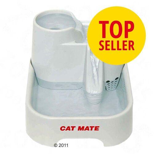Cat Mate Trinkbrunnen - Komplettset: Brunnen, 2 Ersatzfilter, Ersatzpumpe