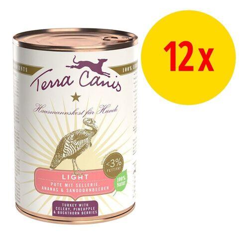 Terra Canis 12 x 400g Light Wild mit Gurke Terra Canis Hundefutter nass