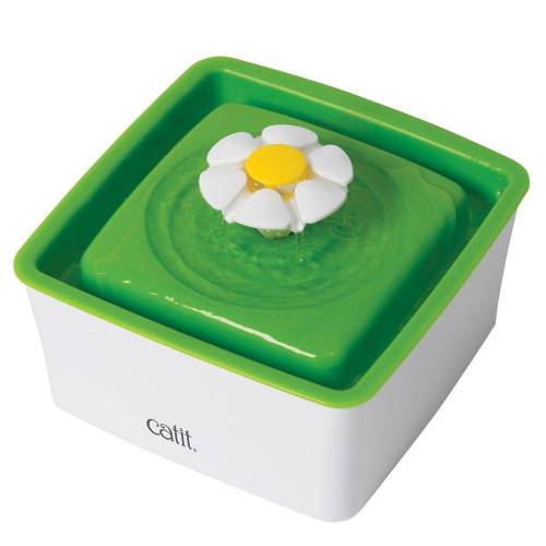 Catit 2.0 Flower Fountain MINI - Trinkbrunnen 1,5 Liter