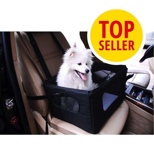 bitiba Autositz für kleine Hunde - B 47,5 x T 38 x H 27,5 cm
