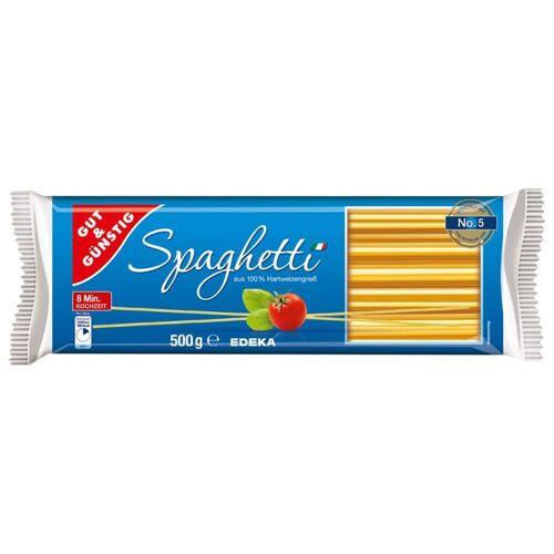 Gut & Günstig Spaghetti - 5 x 500 g