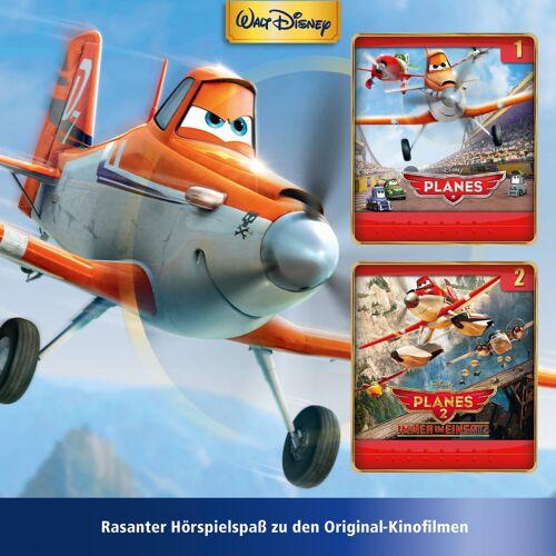 Cars & Planes Planes: 2er MP3-Box Planes (Folge 1 – 2)