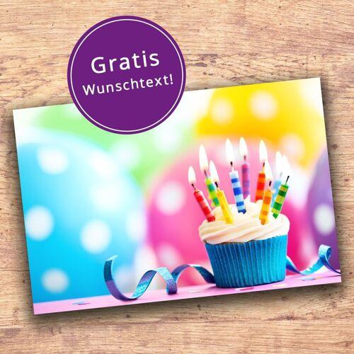 Grußkarte Geburtstag
