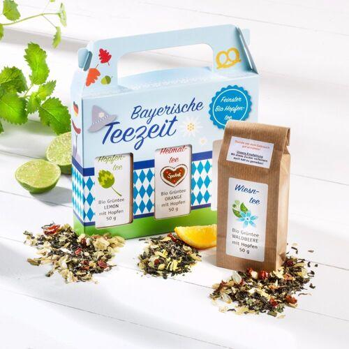 Rauf Tee Bayerische Teezeit Feinster Bio Hopfentee 3er-Set