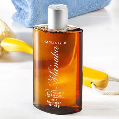 Haslinger Duschbad & Shampoo mit Manuka Honig