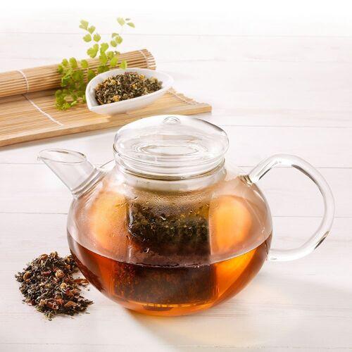 Trendglas Glas-Teekanne Soma+ mit Filter und Deckel