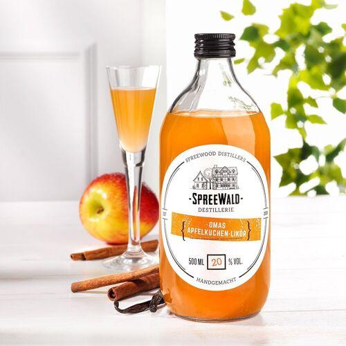 Omas Apfelkuchen-Likör