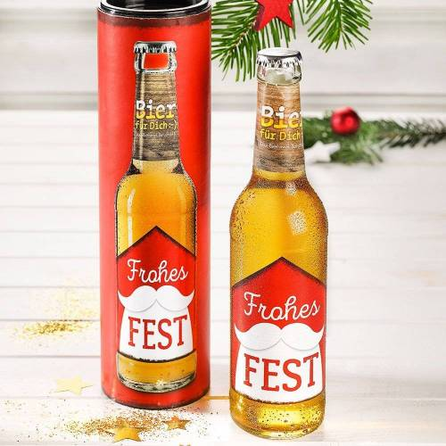 Weihnachtsbier Frohes Fest