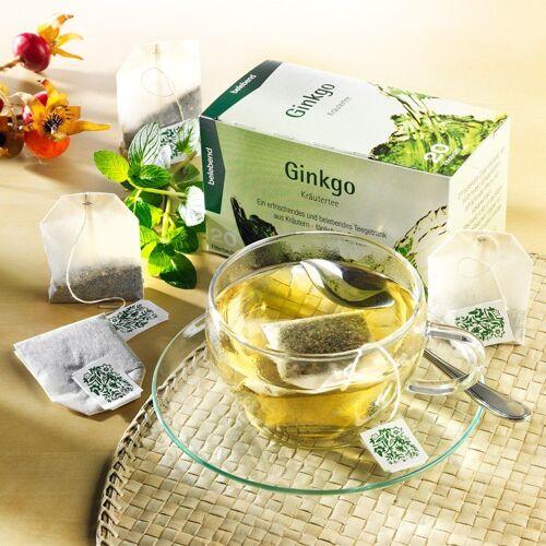 Teebeutel Kräutertee Ginkgo-Mischung