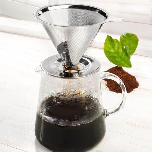Ritzenhoff & Breker Dauer-Kaffeefilter Vista aus Edelstahl