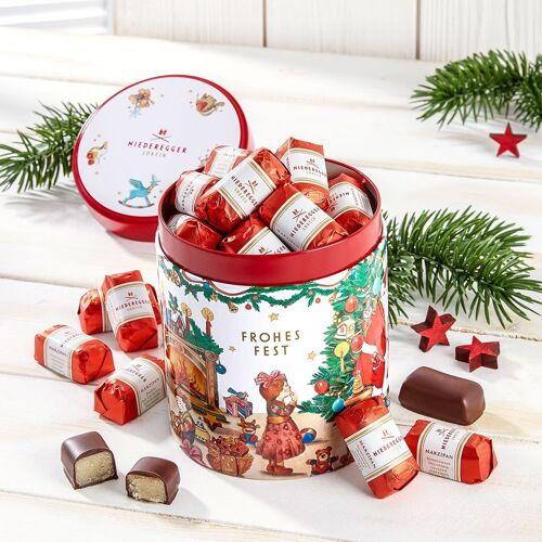 Niederegger Weihnachtsdose mit Marzipan Klassikern