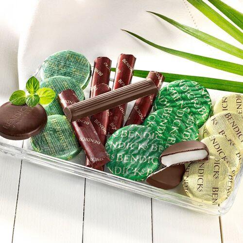 Pfefferminze Pralinen mit Zartbitterschokolade