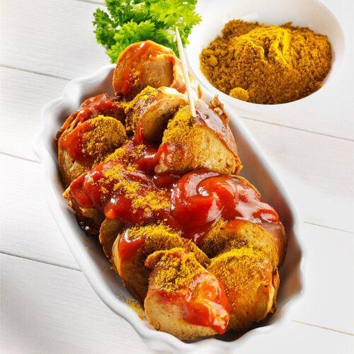 Currywurst für zwei Bio