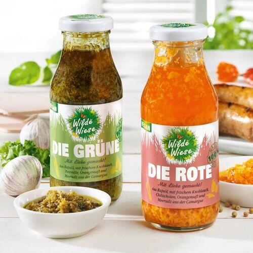 """Meine Wilde Wiese Grillsauce """"Die Rote Sauce"""", ohne Zucker"""
