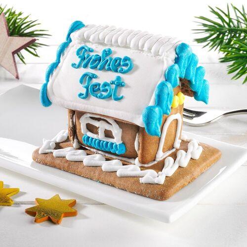 Mini Lebkuchenhaus Frohes Fest