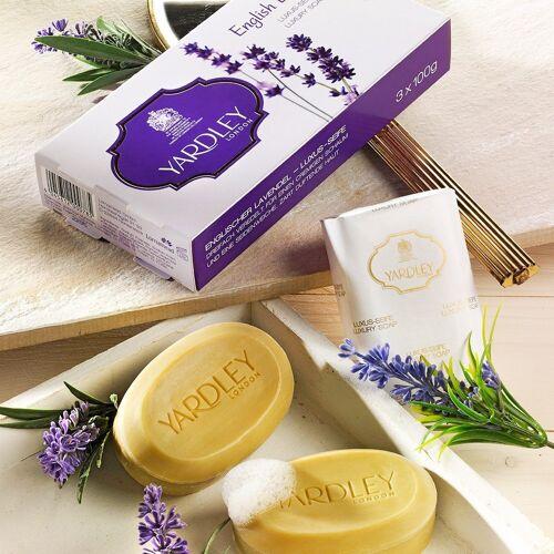 Yardley Seifen Lavendel 3er-Set