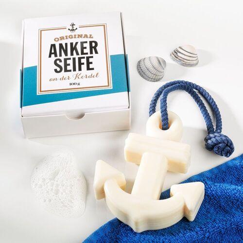 Original Anker-Seife an der Kordel