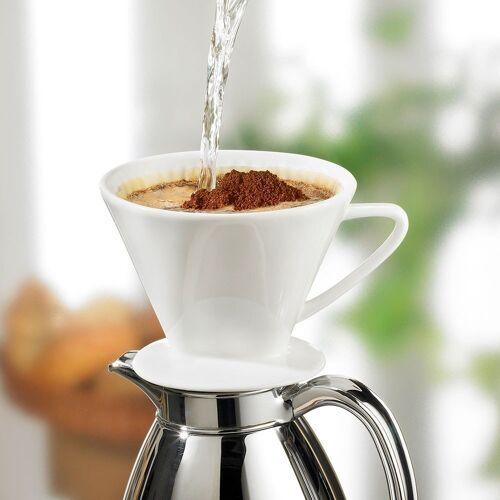 Cilio Kaffee Dauerfilter aus Porzellan, Größe 2