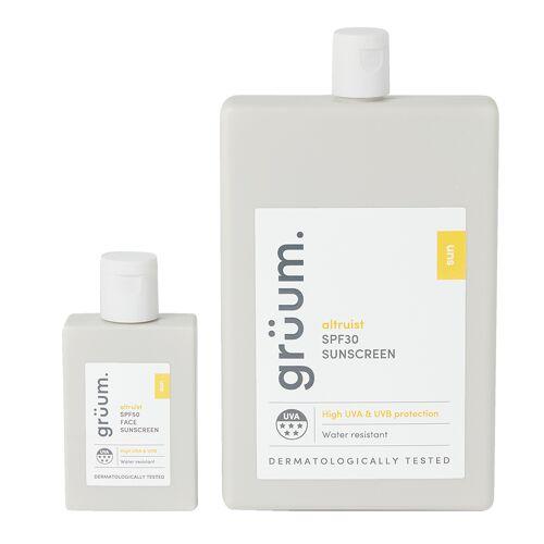grüum Face & Body Sunscreen Set